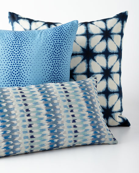 Shaman Blue Pillow