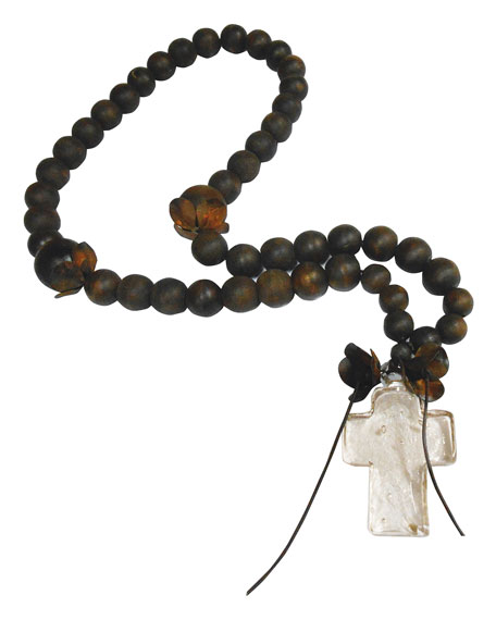 Cruz Vidrio Blessing Beads