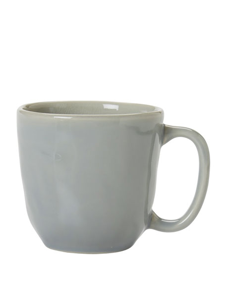 Juliska Puro Mist Gray Crackle Cofftea Cup