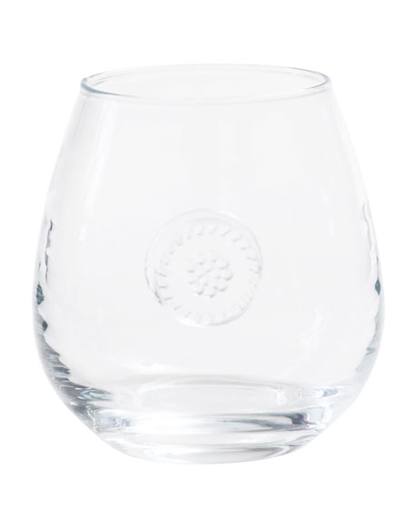 Juliska Berry & Thread Stemless Red Wine Glass