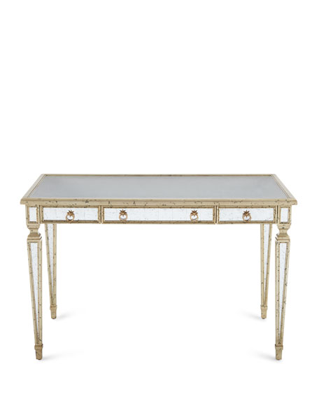 Zamora Mirrored Writing Desk