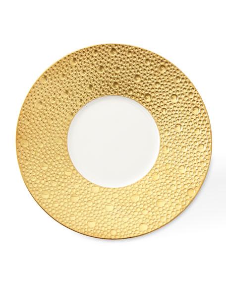 Bernardaud Ecume Gold Saucer