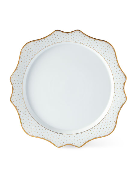 Anna Weatherley Simply Anna Antique Polka Charger Plate