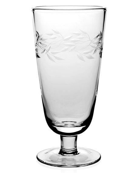 "Garland 9"" Footed Vase"
