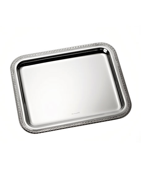 Christofle Malmaison Small Rectangular Tray