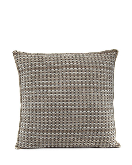 Cashmere Basketweave Pillow