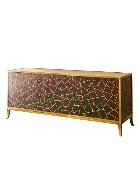 Dion Triangle 4-Door Console
