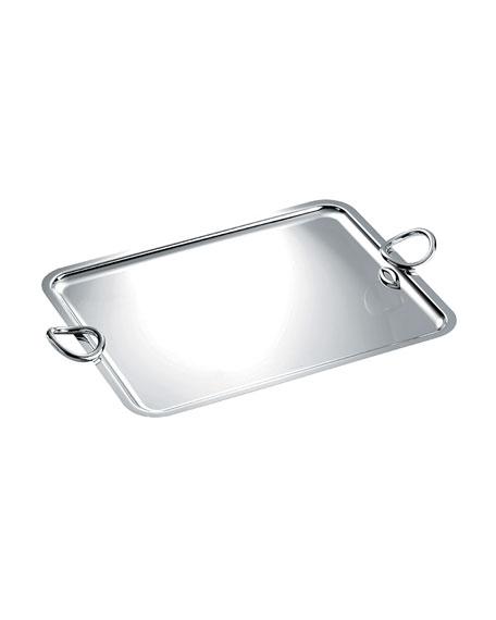 Christofle Extra-Large Vertigo Tray with Handles