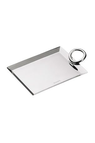 Christofle Vertigo Business Card Tray