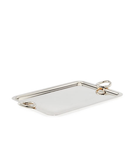 Christofle Vertigo Medium Rectangular Tray