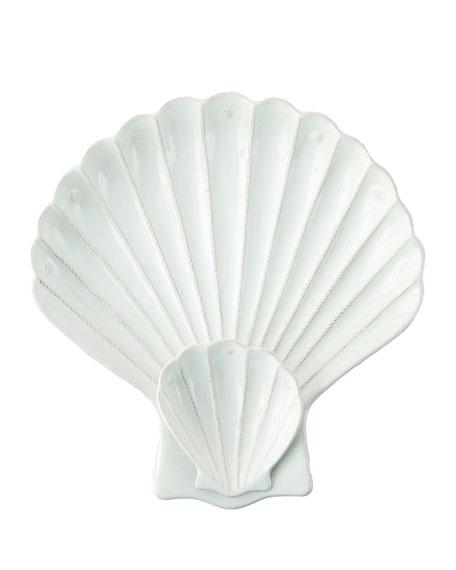 Juliska Berry & Thread White Shell Appetizer Server