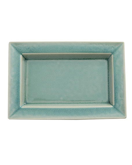 Tourron Jade Medium Rectangular Dish