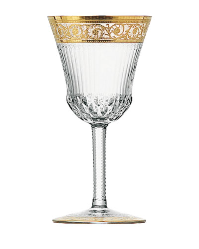 Thistle Gold American Water Goblet