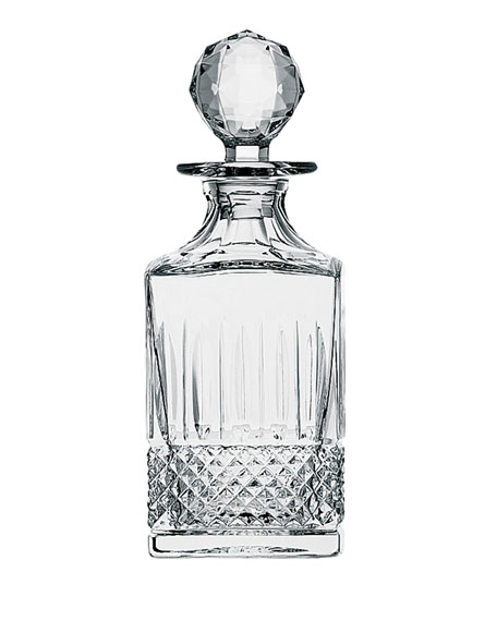 Saint Louis Crystal Tommy Square Decanter