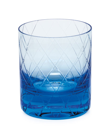 Bonbon Aquamarine Double Old-Fashioned Tumbler