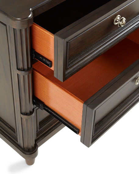 Calhoun Three-Drawer Nightstand