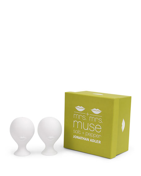 Mrs. & Mrs. Muse Salt & Pepper Shakers