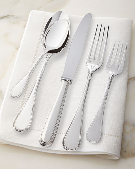 Christofle Perles Salad Fork