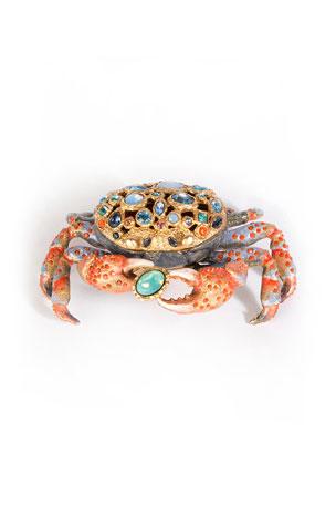 Jay Strongwater Gavin Crab Box