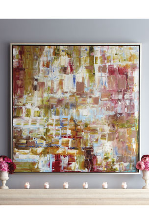 """Pretty in Pinks"" Giclee on Canvas Wall Art"