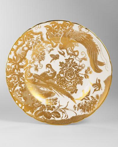 Gold Aves Dinner Plate