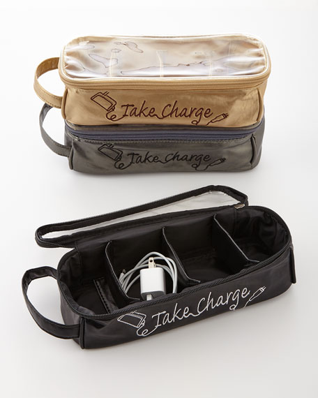 Charger cord organizer
