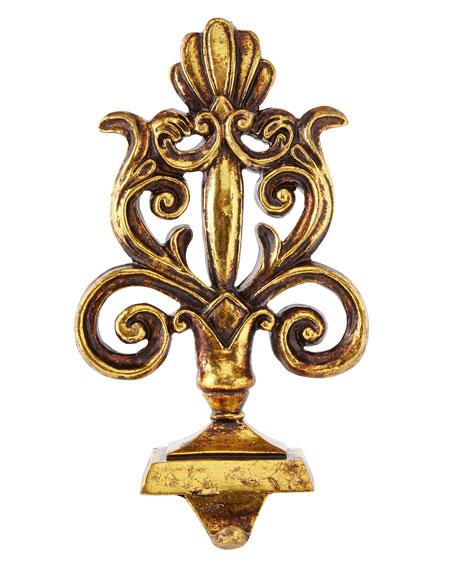 Baroque Golden Stocking Hook