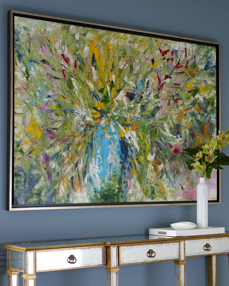 John-Richard Collection Jinlu Original Abstract Painting