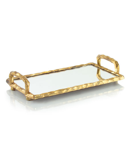 John-Richard Collection Small Chiseled-Frame Tray