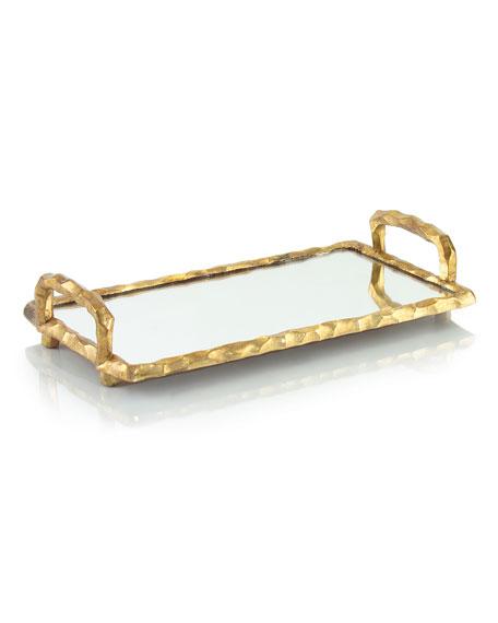 Large Chiseled-Frame Tray