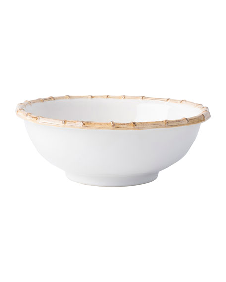 """Bamboo"" Serving Bowl"