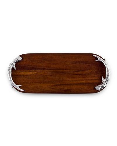 Western Antler Long Cutting Board