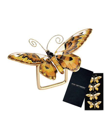 Kim Seybert Butterfly Napkin Ring, Set of 4