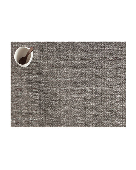 Chilewich Graphite Glassweave Placemat