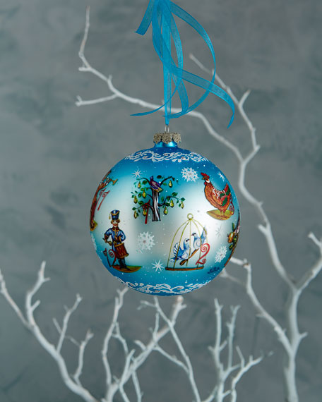 G. Debrekht 12 Days of Christmas Ornament