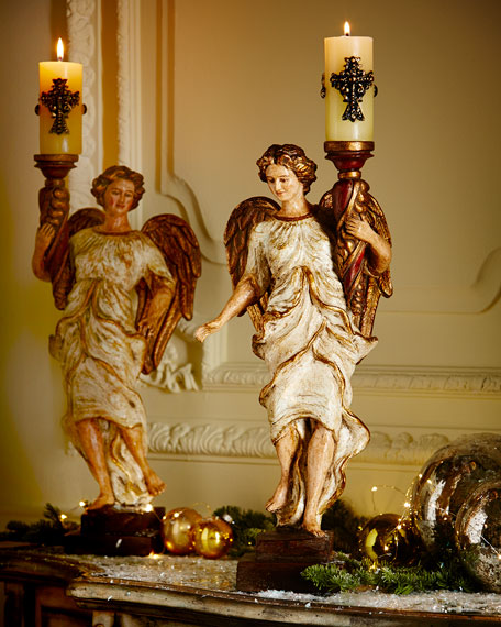 Angelica Designs Gabriella Angel Candleholder
