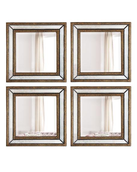 Norlina Square Wall Mirrors, Set of 2