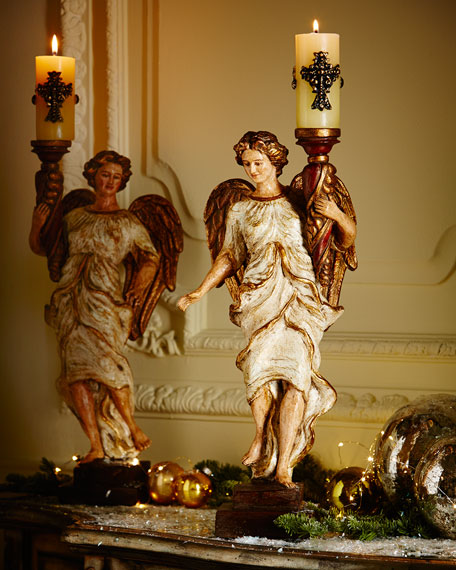 Angelica Designs Regina Angel Candleholder