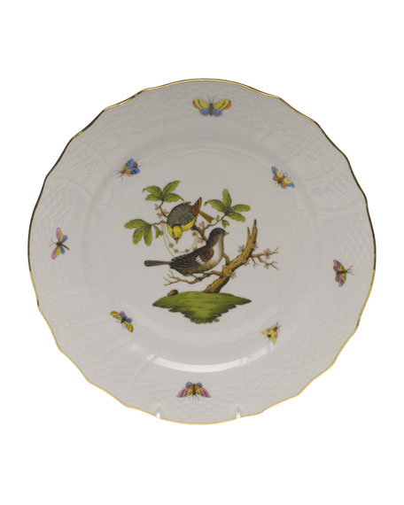 Herend Rothschild Bird Service Plate/Charger 01