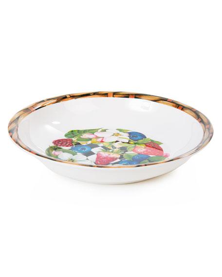 MacKenzie-Childs Berry Blossom Bowls, Set of 4