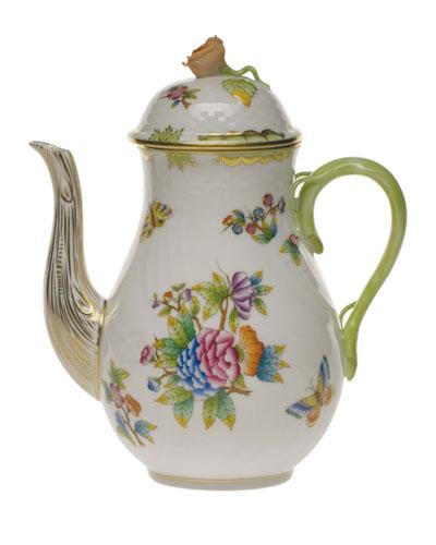 Queen Victoria Coffee Pot