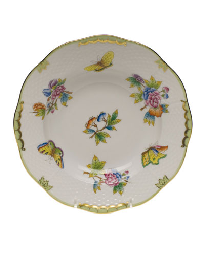 Queen Victoria Rimmed Soup Plate