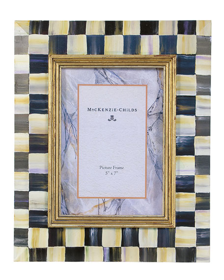 MacKenzie-Childs Courtly Check Picture Frame, 5