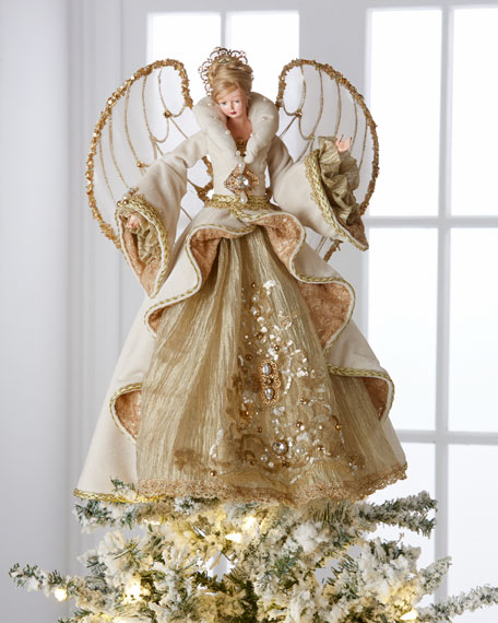 Christopher Radko Gilded Angel Heirloom Statue