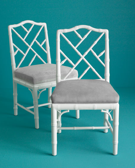 Each Chippendale Side Chair
