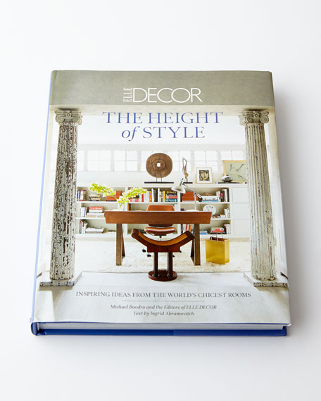 Elle Decor: Height of Style Hardcover Book