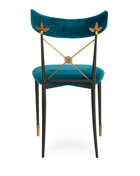 Rider Blue Dining Chair