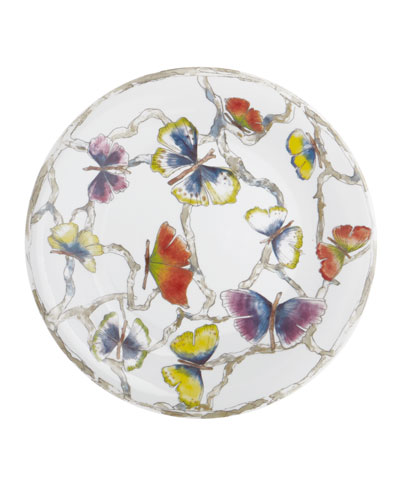 Butterfly Gingko Salad Plate