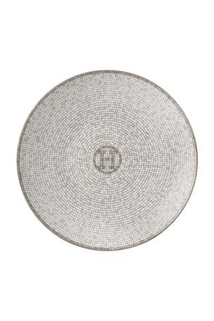 Hermès Mosaique au 24 Platinum Bread & Butter Plate