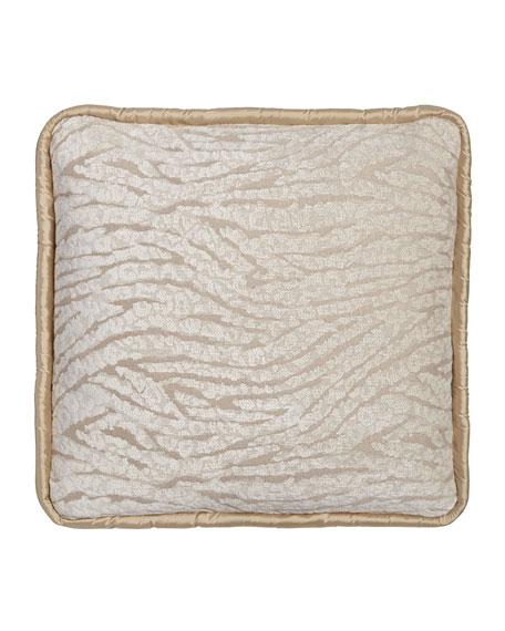 Dian Austin Couture Home Sloane Animal-Stripe Pillow, 20